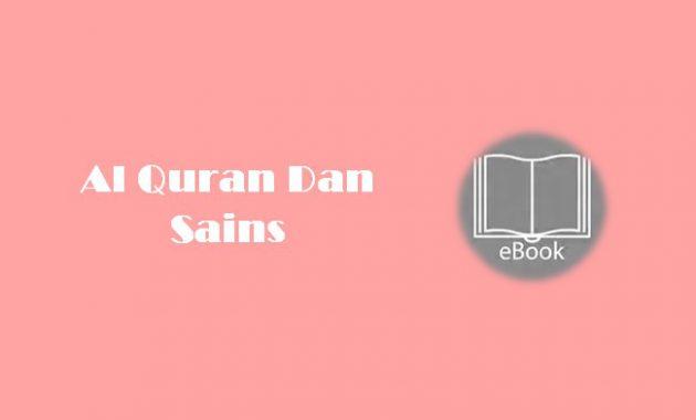 Ebook Al Quran Dan Sains