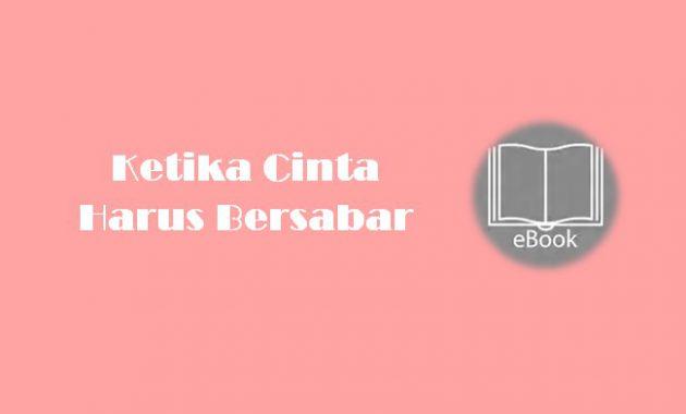 Ebook Ketika Cinta Harus Bersabar