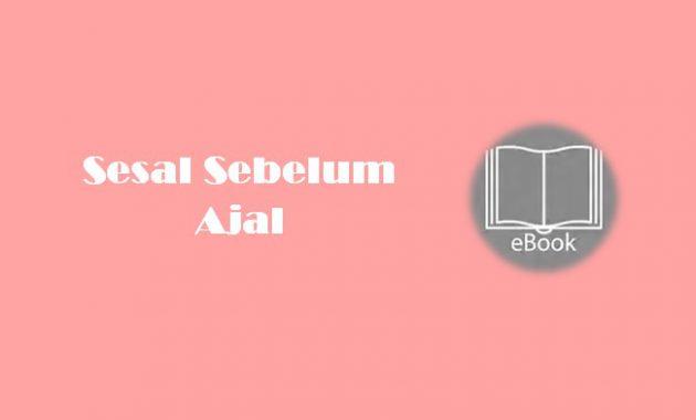 Ebook Sesal Sebelum Ajal