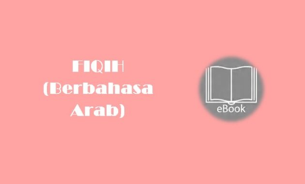 Ebook FIQIH (Berbahasa Arab)