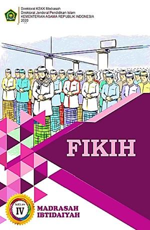 Fikih (MI Kelas IV) Sampul Buku