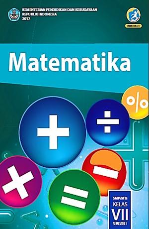 Matematika (SMP/MTS Kelas VII Semester 1) Sampul Buku