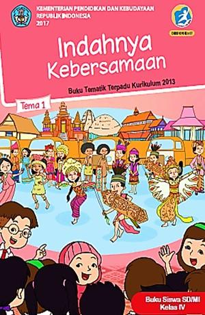 Tema 1 Indahnya Kebersamaan (SD/MI Kelas IV) Sampul Buku