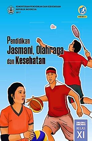 Pendidikan Jasmani Olahraga & Kesehatan (Kls XI) Sampul Buku