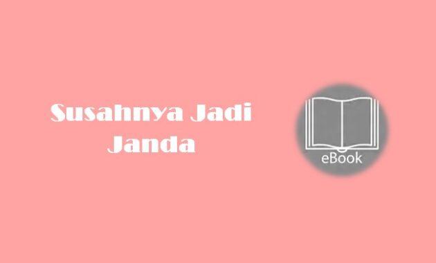 Ebook Susahnya Jadi Janda