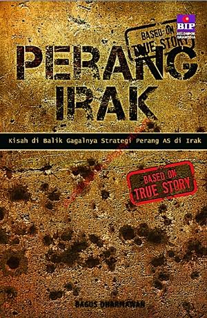 Perang Irak Sampul Buku